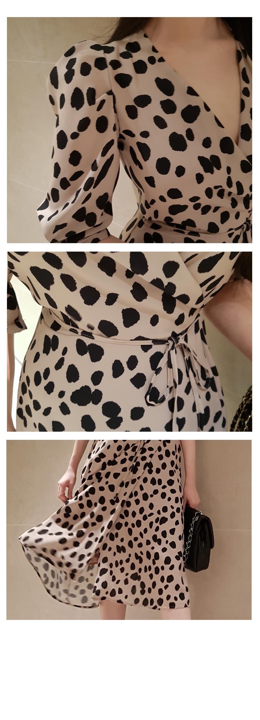 Váy Thun Xoè Tay Lỡ - VL5647
